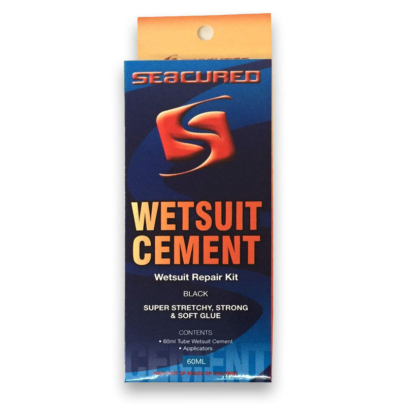 wetsuit repair patch seam cement glue