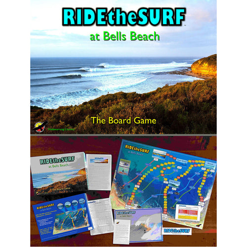 Ride the Surf Contents board game