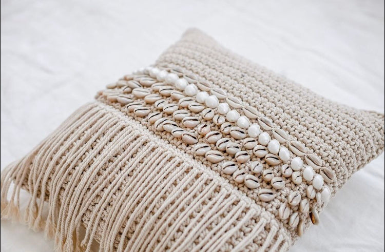 MYLA MACRAME CUSHION