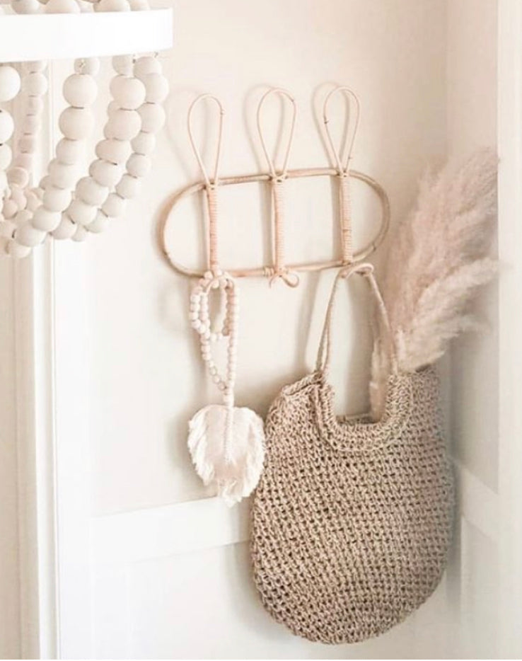 RATTAN WALL COAT HOOK