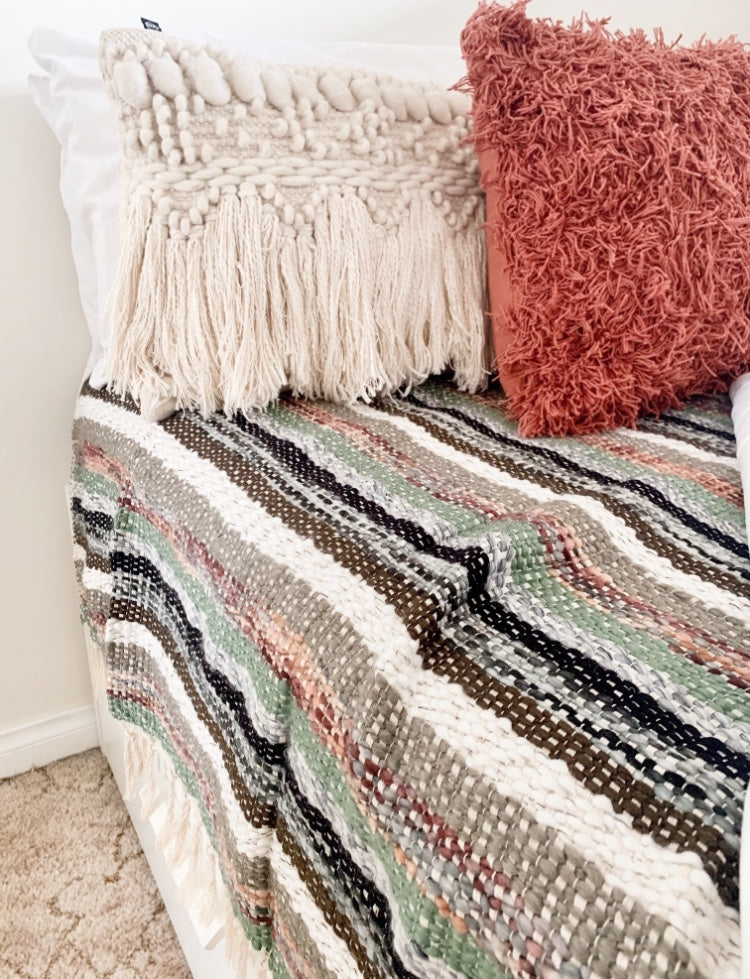 CAMELLIA LUXE BOHO THROW - SUN REPUBLIC