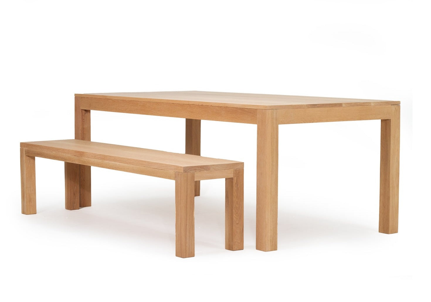 ARLO DINING TABLE - AMERICAN OAK