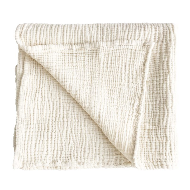 IVY BABY BLANKET - NATURAL - SUN REPUBLIC