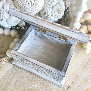 WHITE WASH FLOWER BOX - SUN REPUBLIC