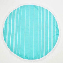 ROUND TURKISH TOWELS - SUN REPUBLIC