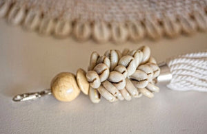 COWRIE SHELL ACCESSORY OR KEY RING - NATURAL - SUN REPUBLIC