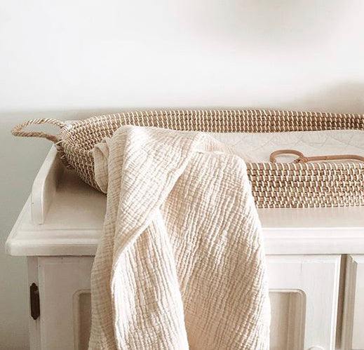 IVY BABY BLANKET - NATURAL