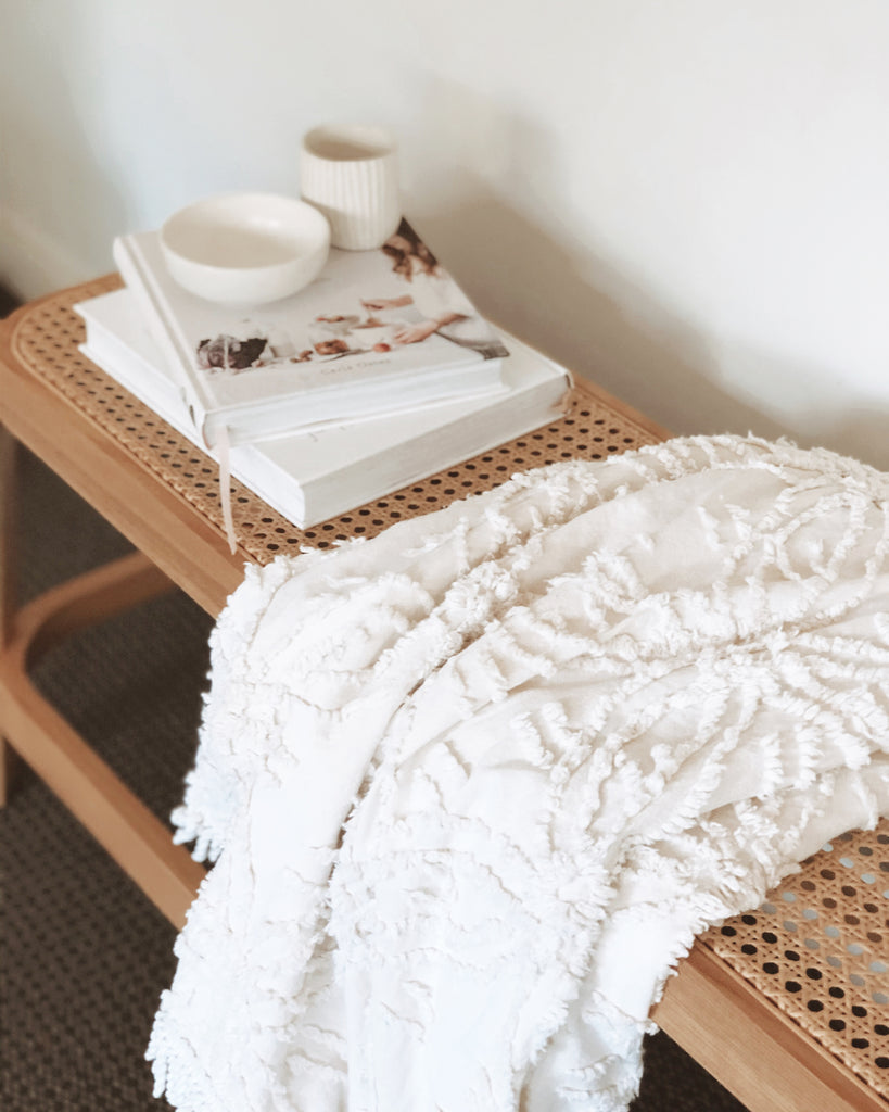 BOHO LUXE THROW - NATURAL - SUN REPUBLIC