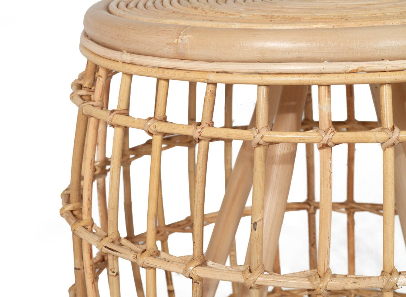 KAUAI RATTAN SIDE TABLE