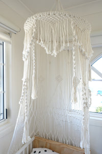 LILLY MACRAME CANOPY - SUN REPUBLIC