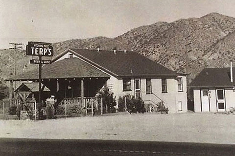 Terp's Hitching Post before it was Cactus Mart