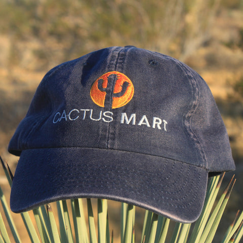 Cactus Mart Embroidered Logo Hat