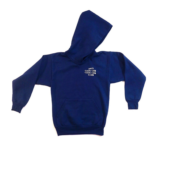 Anti Cool Cub Hoodie (Navy Blue)