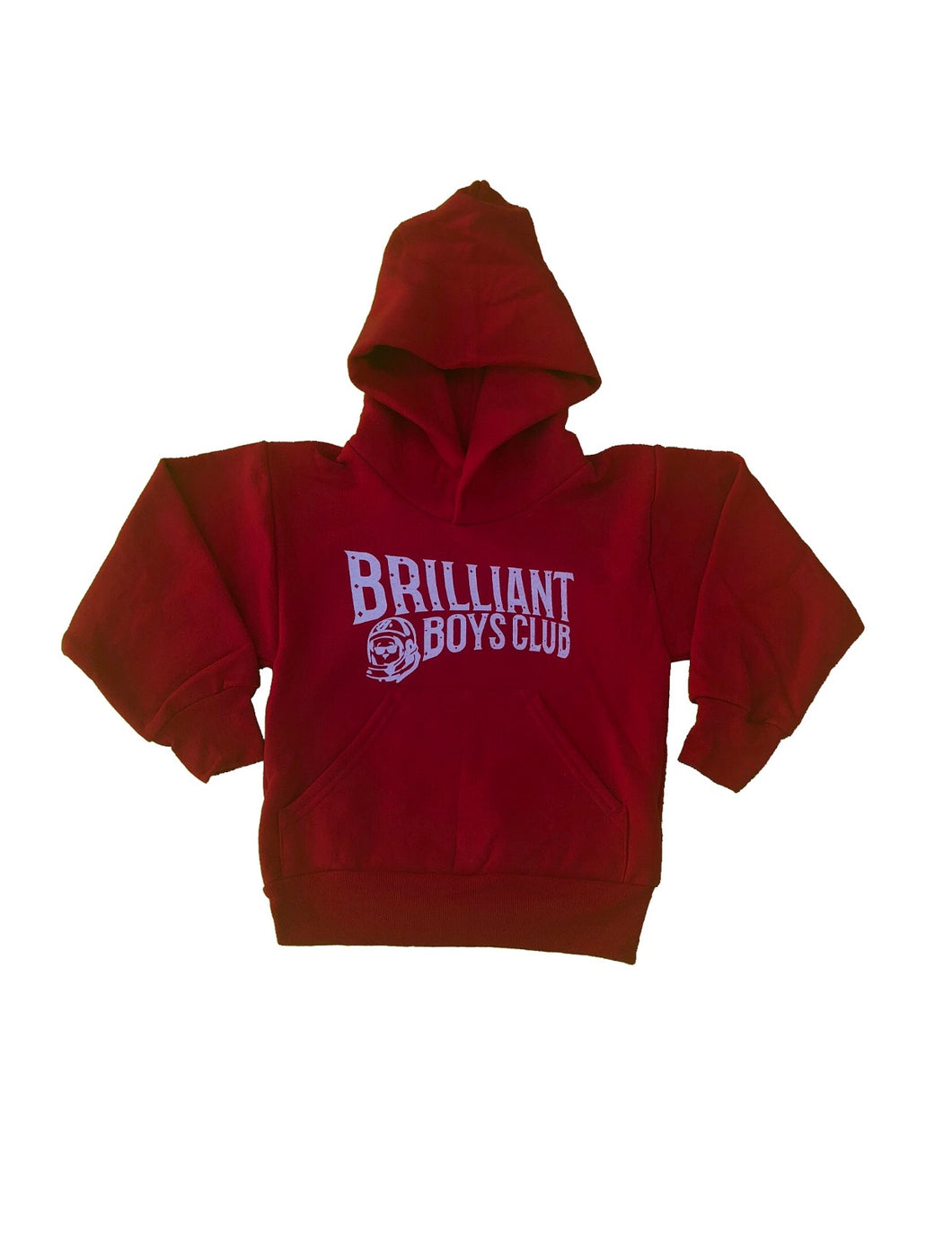 Brilliant Boys Club Hoodie (Red)