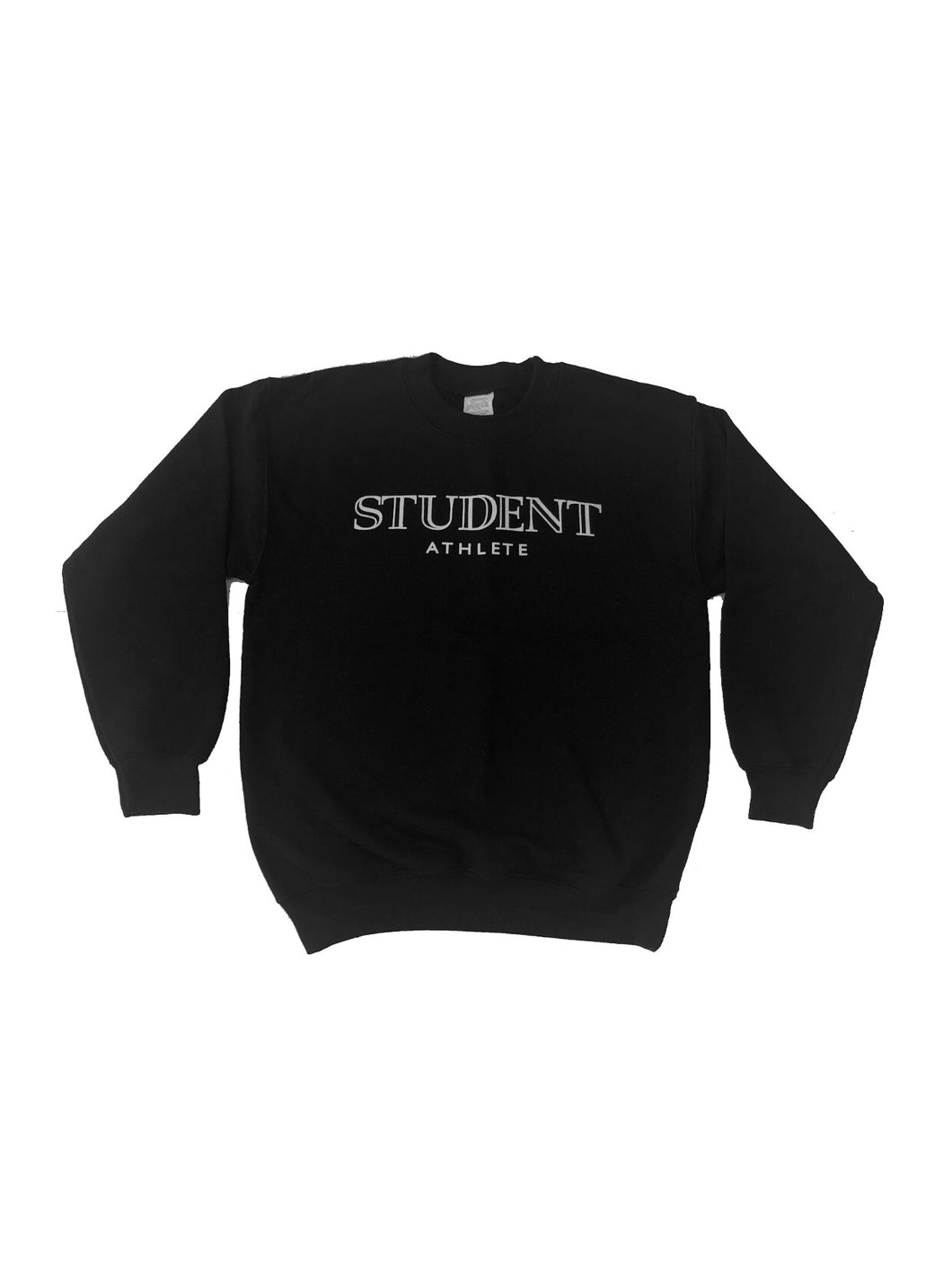 Student Athlete Crewneck (Black)