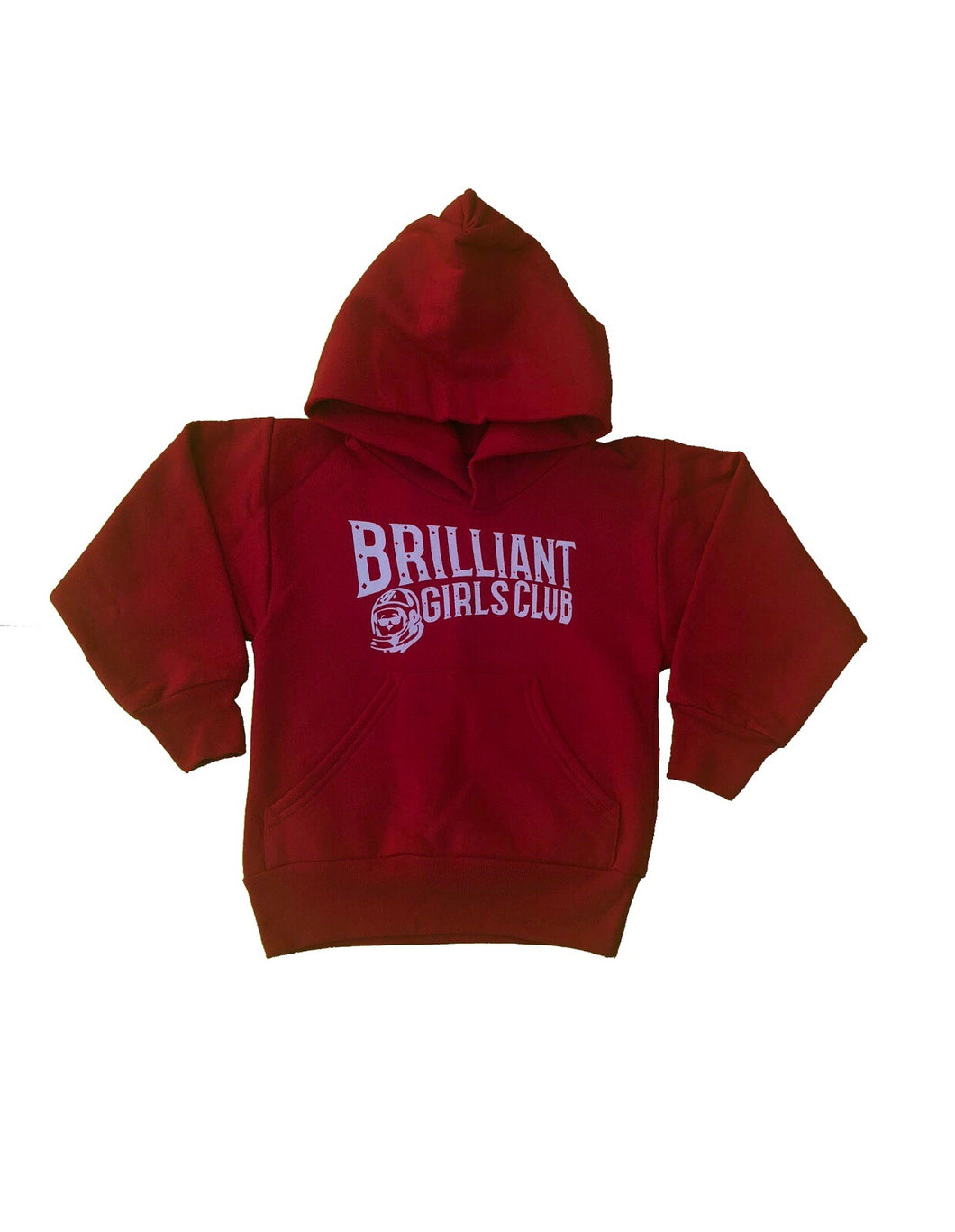 Brilliant Girls Club Hoodie (Red)