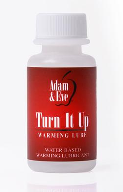 Adam and Eve Turn It Up  Warming Lubricant - 1 Oz. -  Adam and Eve