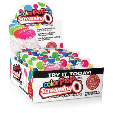 Color Pop Quickie Screaming O -  Assorted Colors - 24 Count Box -  Screaming O