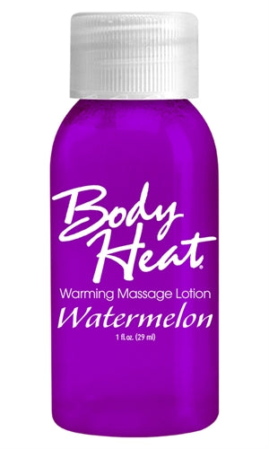 Body Heat Warming Massage Lotion - 1 Fl. Oz. - Watermelon PD9553-68