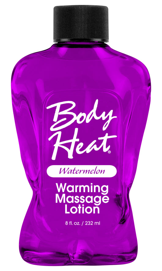 Body Heat Warming Massage Lotion - 8 Fl. Oz. - Watermelon PD9550-68