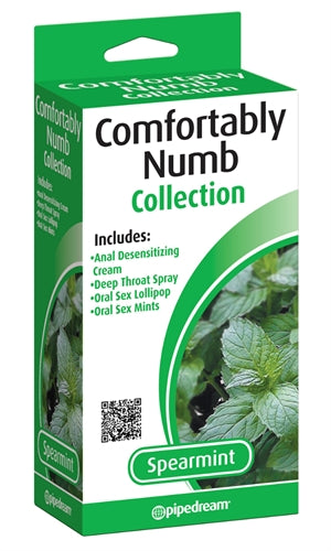 Comfortably Numb Pleasure Kit - Spearmint PD7442-88