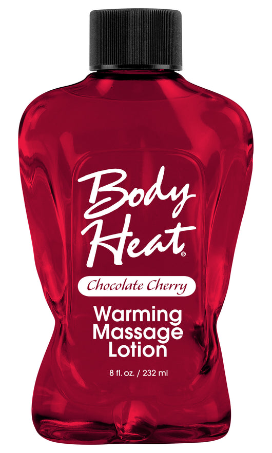 Body Heat Warming Massage Lotion - 8 Fl. Oz. - Chocolate Cherry PD9550-77