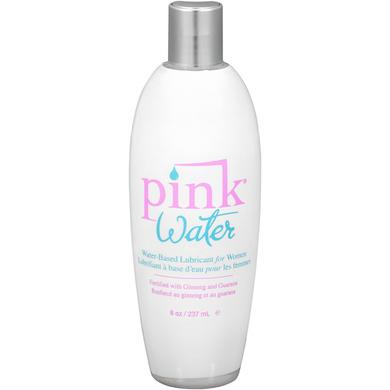 Pink Water Based Lubricant for Women 8 Oz Flip Top Bottle -  Gun Oil Pink Lubricant