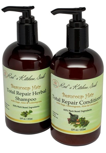BEAUCOUP HAIR HERBAL HAIR SYSTEM LITE FOR WOMEN - Red's Kitchen Sink