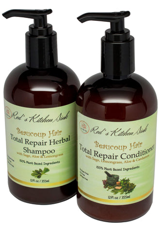 Beaucoup Hair Total Repair Shampoo & Conditioner