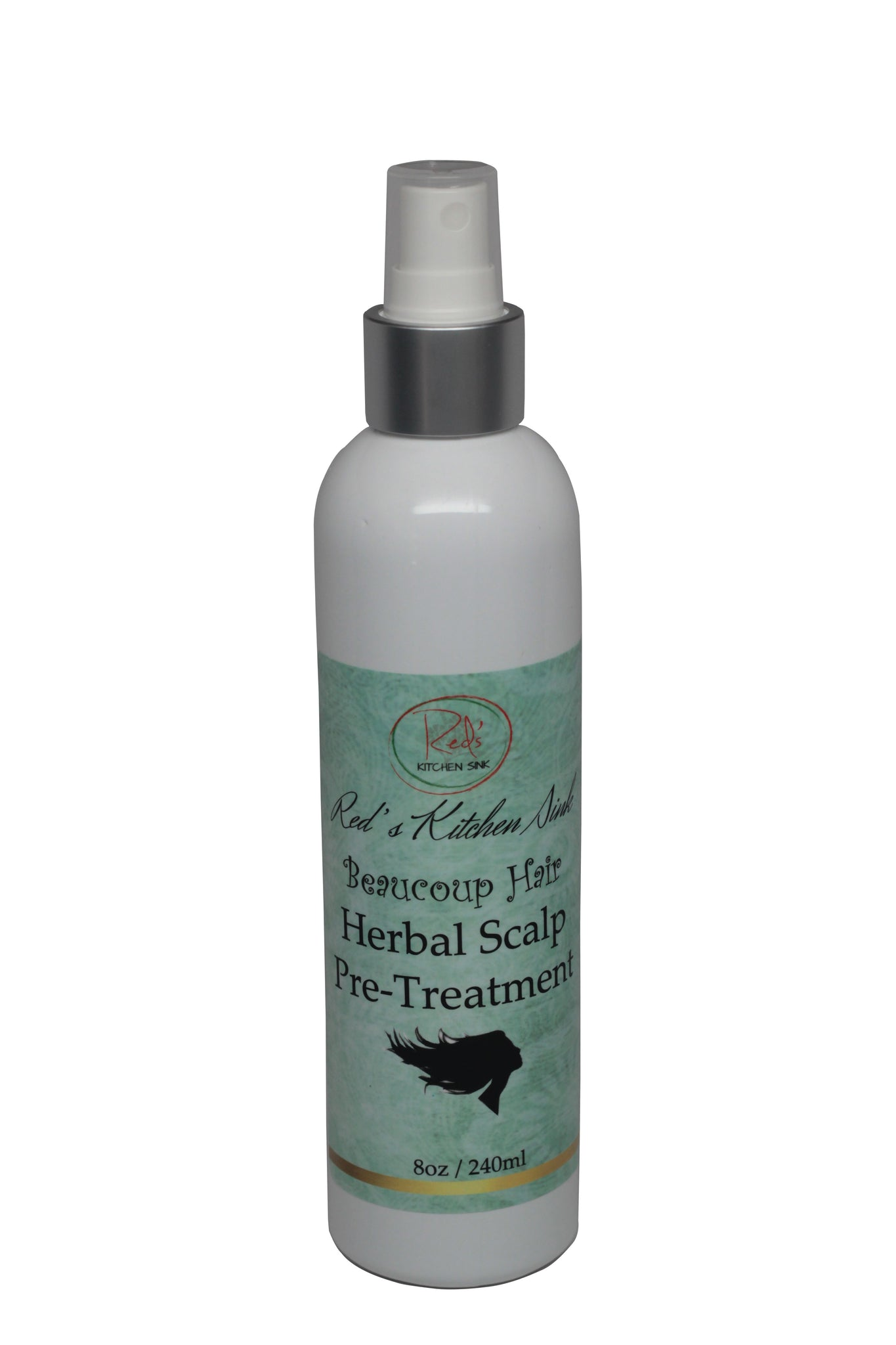 BEAUCOUP HAIR HERBAL SCALP PRE-TREATMENT- FOLLICLE CLEANSER - Red's Kitchen Sink