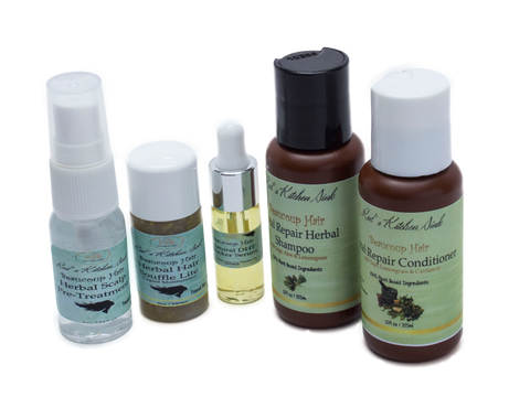 BEAUCOUP HAIR HERBAL HAIR SYSTEMS TRAVEL SIZE - Red's Kitchen Sink
