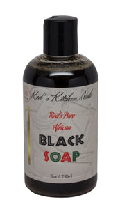 RED'S PURE AFRICAN BLACK SOAP