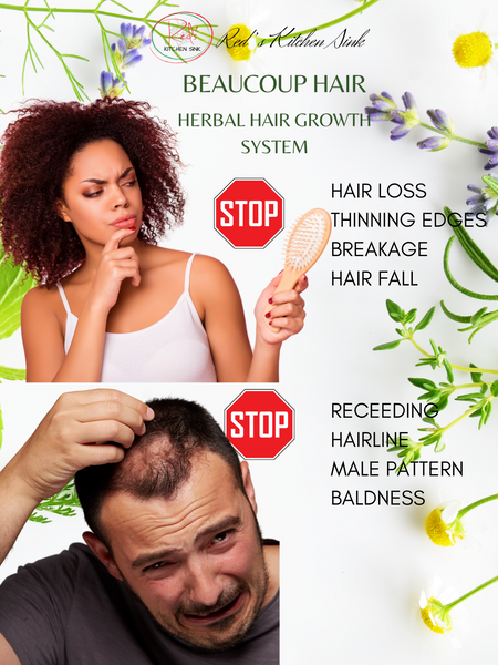 Beaucoup Hair Herbal Hair Growth System Batana Oil