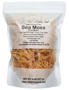 SEA MOSS | IRISH MOSS | WILDCRAFTED | FROM ST. LUCIA