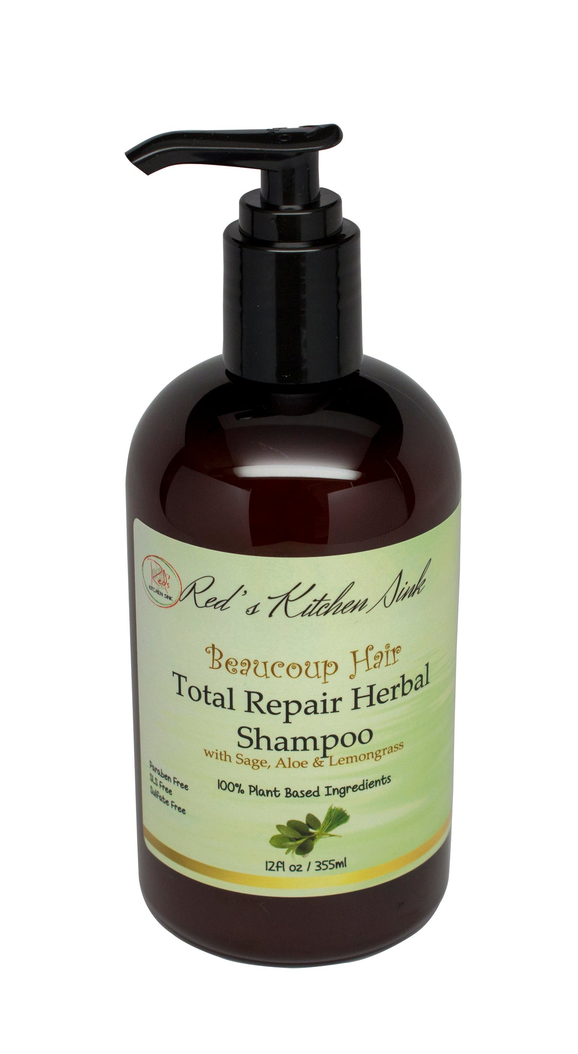 BEAUCOUP HAIR TOTAL REPAIR HERBAL SHAMPOO - Red's Kitchen Sink