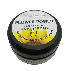 FLOWER POWER NOURISHING CURL CREME | CURL DEFINING GEL