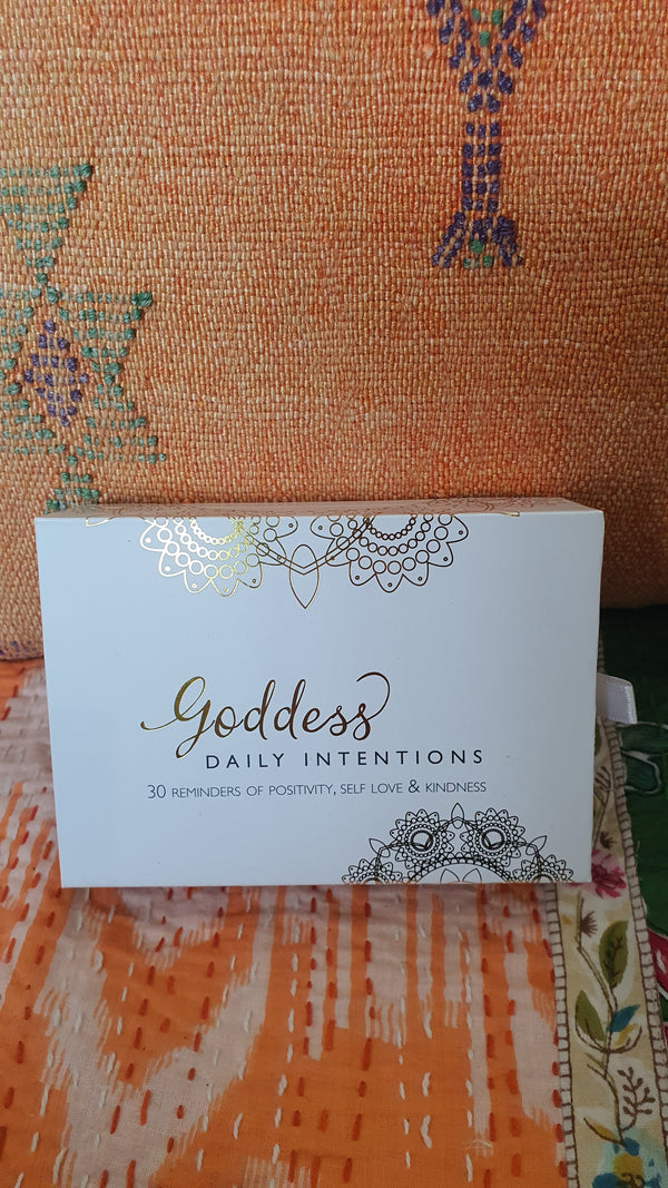 Goddess daily intentions