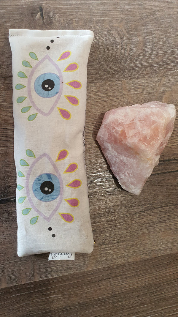 Lavender & Rice eye pillow