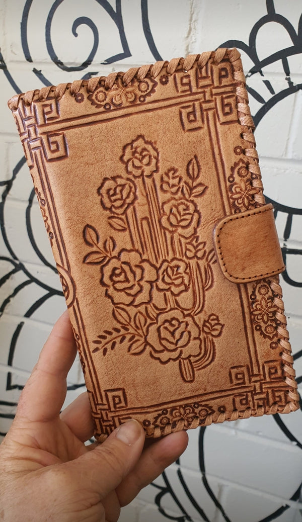 Cactus roses wallet