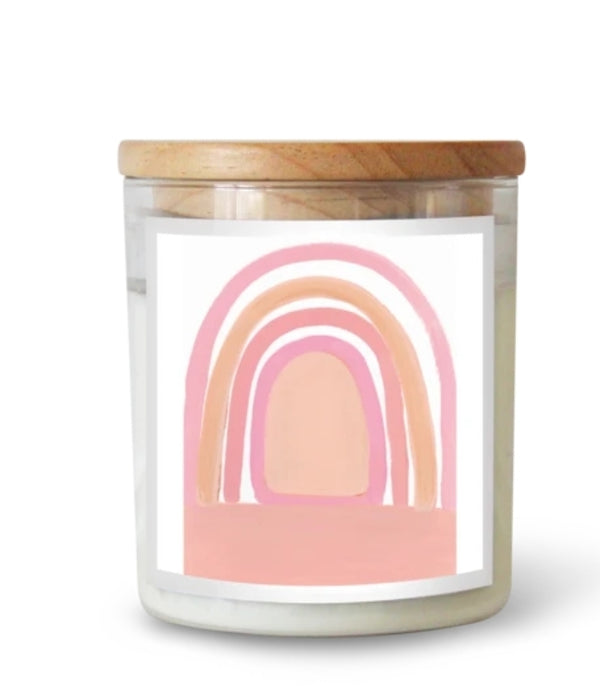 Rainbow Blessings Candle