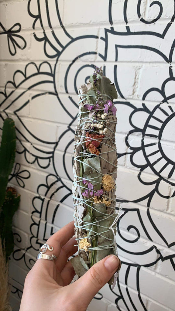 """PEACE & LOVE "" Smudge Stick"