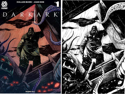 Dark Ark #1 Two Cover Set Alessandro Vitti Scott's Collectables Exclusive Covers