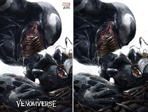 Venomverse #1 Two Cover Set Francesco Mattina NYCC Scott's Collectables Exclusive Covers