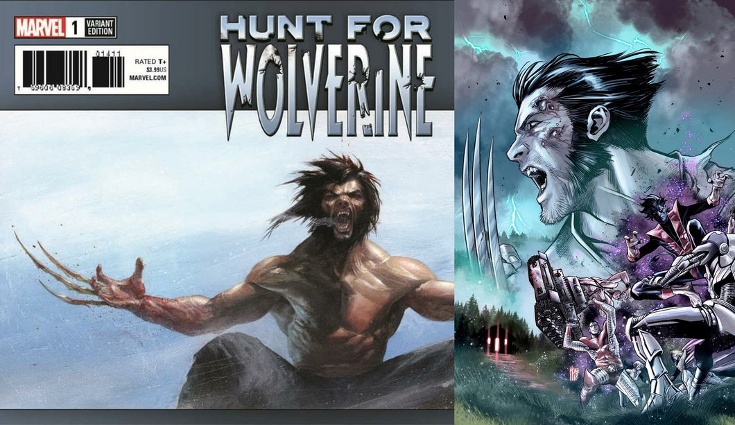 Hunt for Wolverine #1 Gabriele Dell'Otto & Marco Checchetto Scott's Collectables Exclusive Variant Set