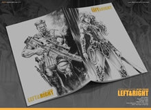 LEFT & RIGHT SKETCHBOOK FROM KAEL NGU & ALAN QUAH