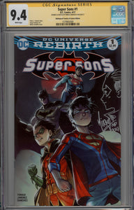 Super Sons #1 Mirka Andolfo Remark CGC 9.4 Signature Series