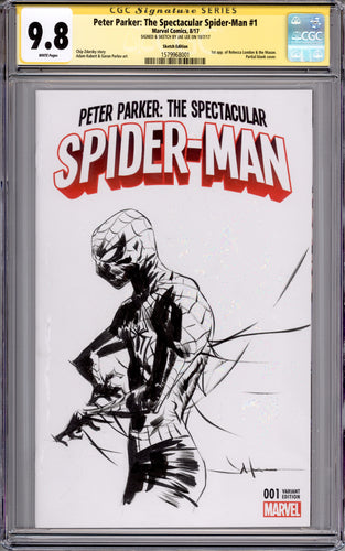 Jae Lee Spider-Man CGC 9.8 Sketch Cover