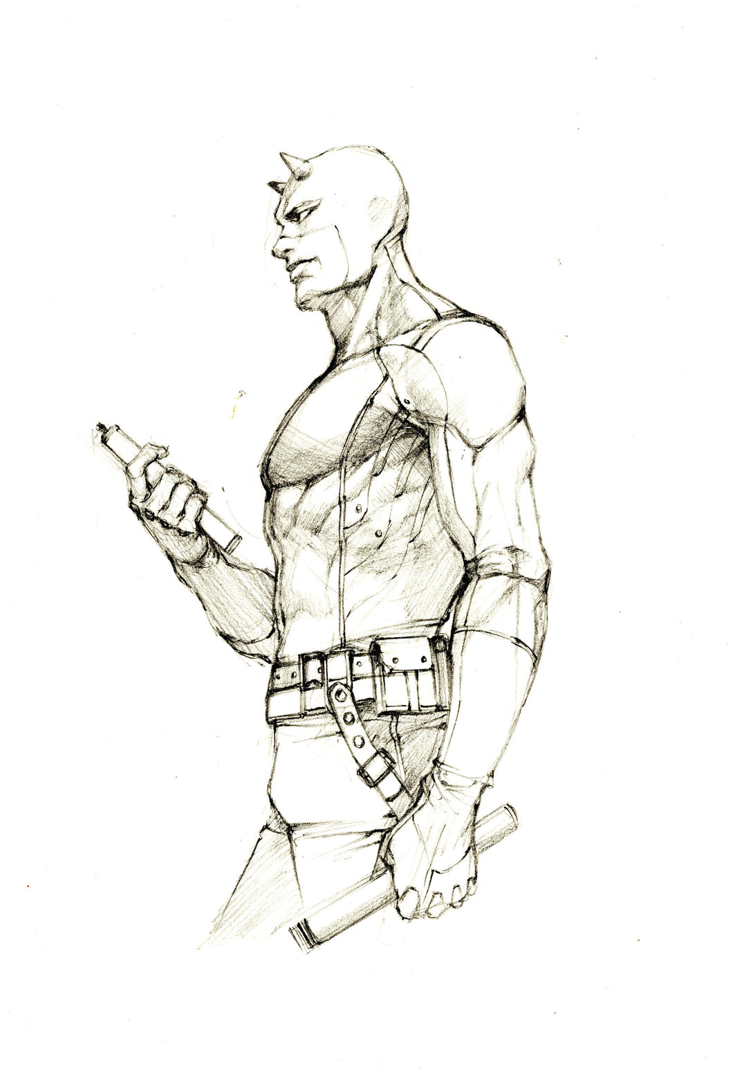InHyuk Lee Daredevil (V2) Pencil Sketch