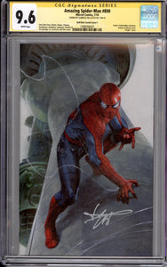 AMAZING SPIDER-MAN #800 CGC 9.6 SIGNATURE SERIES EDITION SIGNED BY DELL'OTTO (SCOTT'S COLLECTABLES VIRGIN VARIANT)