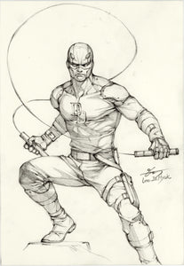 InHyuk Lee Daredevil Pencil Sketch